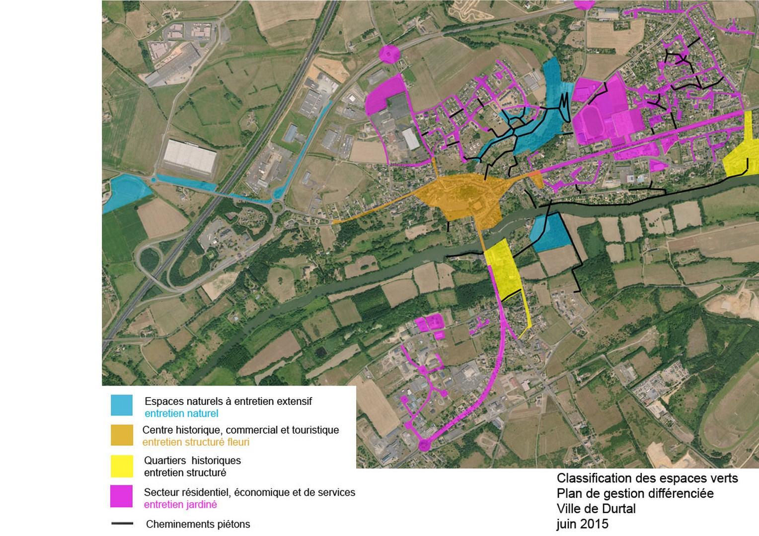 Projet s en cours site de la commune de durtal for Les espaces verts en ville