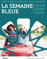 Semaine bleue du 5 octobre au 3 novembre