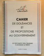 Cahier de doléances ouvert en Mairie