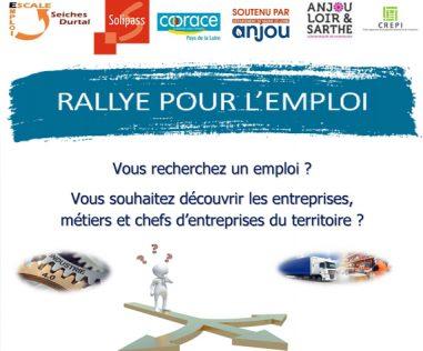 Rallye pour l'emploi les 18, 19 et 20 novembre