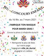 Jeu- Concours enfant du 16/02 au 7/03/21