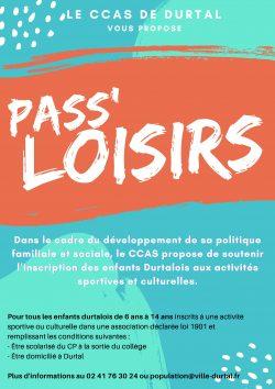 2021-CCAS-pass loisirs-affiche forum